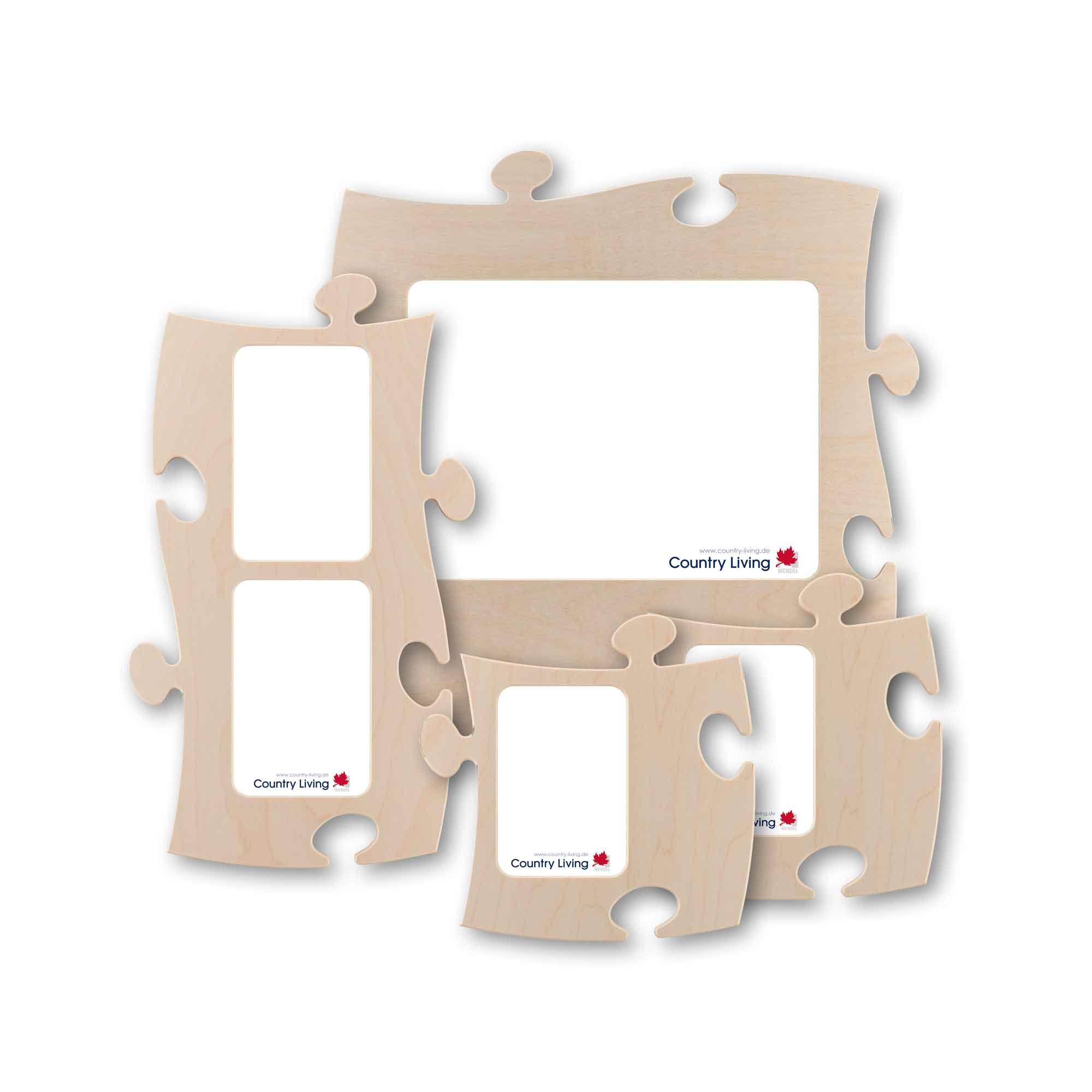 PUZZLES+ Starter-Set, 4 Rahmen - Country-Living Shop